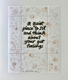 Artiststamp No. 3 by Mia Nolting