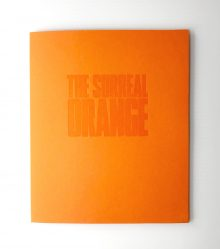 jim riswold the surreal orange stamp folio folder